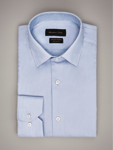 CAMISA TOPOS SLIM FIT