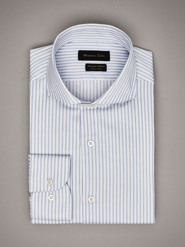 TAILORED FIT STRIPED SHIRT