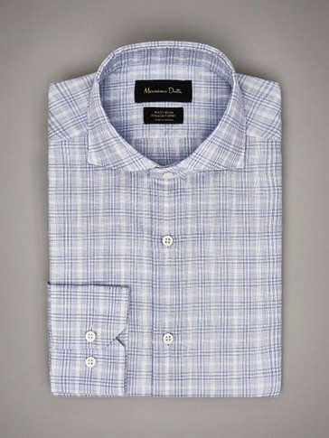 CAMISA QUADRES TAILORED EASY IRON