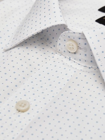 CAMISA ALGODÓN ESTAMPADA SLIM FIT