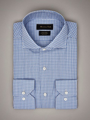 EASY IRON SLIM FIT CHECK SHIRT