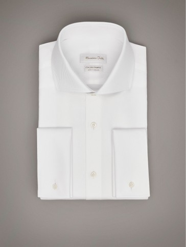 PERSONAL TAILORING SLIM FIT COTTON TWILL SHIRT