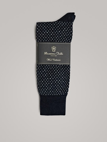 DIAMOND POLKA DOT SOCKS