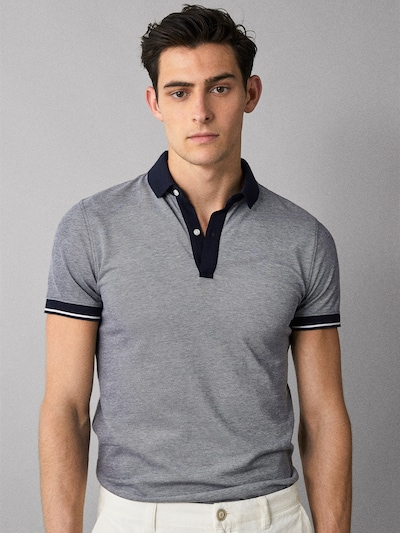 c22f9858 OXFORD POLO SHIRT WITH CONTRAST TRIMS - Men - Massimo Dutti