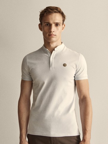COTTON PIQUÉ POLO SHIRT WITH LOGO