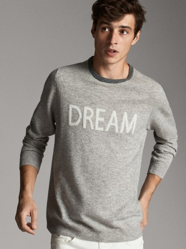 CASHMERE DREAM COTTON SWEATER