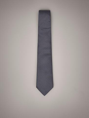 ربطة عنق مطبوعة من الحرير
