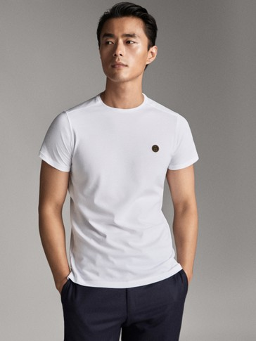 COTTON LOGO T-SHIRT