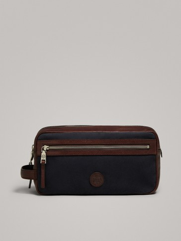 MADABA LEATHER TOILETRY BAG