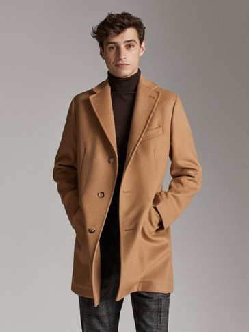 FORMAL WOOL CASHMERE COAT