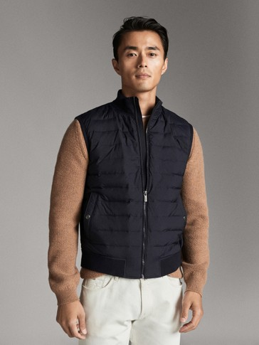QUILTED DOWN GILET