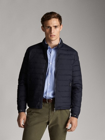 EXTRALIGHT NAVY DOWN JACKET
