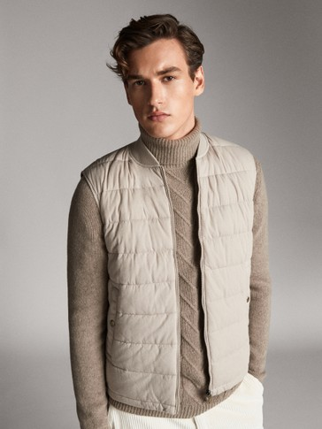 REVERSIBLE QUILTED WAISTCOAT
