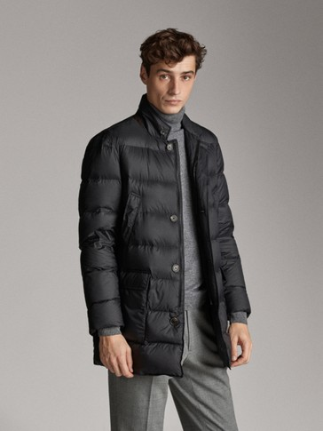 EXTRALIGHT BLACK DOWN JACKET