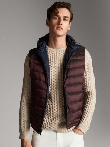 REVERSIBLE TECHNICAL DOWN GILET