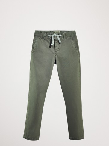 PANTALON CHINO CORDON COUPE CASUAL