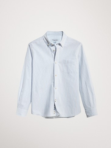 STRIPED 100% COTTON SHIRT