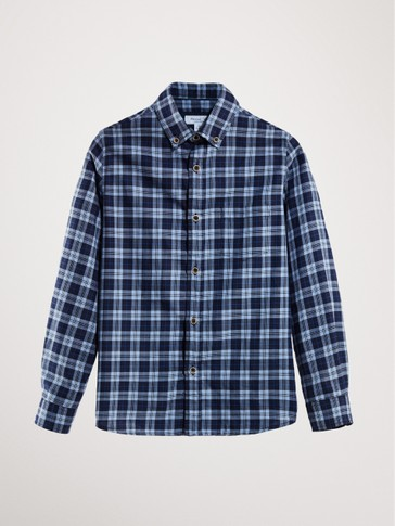 LIMITED EDITION CHECK COTTON SHIRT