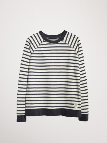 NAUTICAL STRIPE SWEATSHIRT