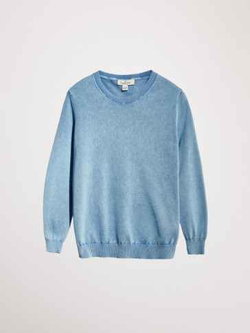 FADED COTTON SWEATSHIRT