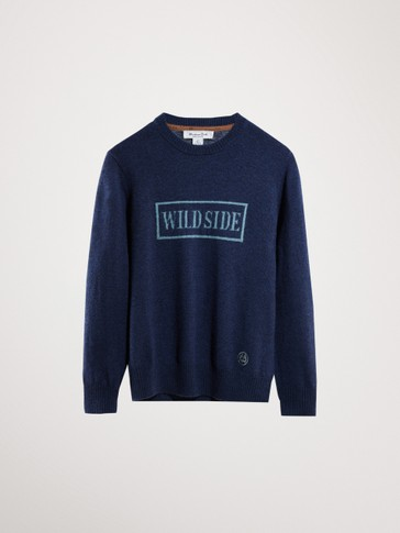 WILDSIDE WOOL CASHMERE SWEATER