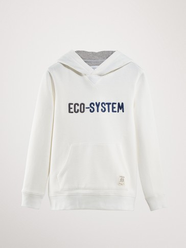 SWEAT À CAPUCHE ECO-SYSTEM