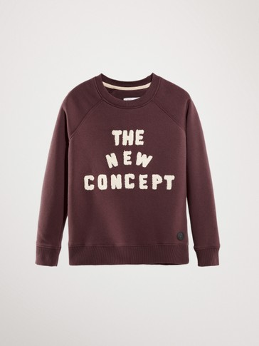 'THE NEW CONCEPT' COTTON SWEATSHIRT
