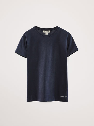 BASIC PLAIN T-SHIRT