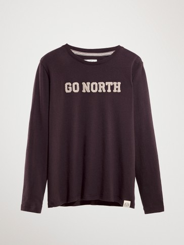 GO NORTH COTTON T-SHIRT