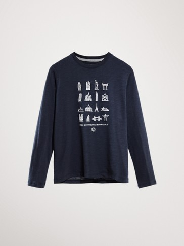 COTTON CITIES LONG SLEEVE T-SHIRT