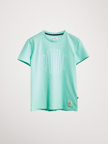 SAILING COTTON T-SHIRT