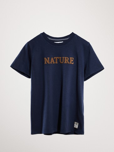 NATURE COTTON T-SHIRT
