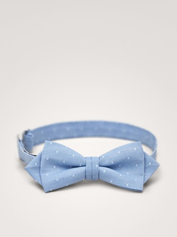 MINI PRINT COTTON BOW TIE