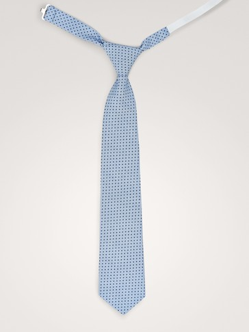 POLKA DOT COTTON TIE