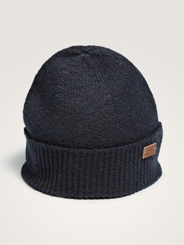 NAVY BLUE COTTON HAT