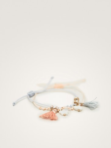 PACK OF TWO BRACELETS