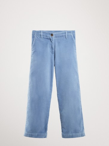 CORDUROY CULOTTE TROUSERS