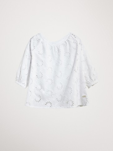 CUTWORK 100% COTTON SHIRT