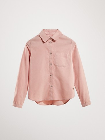 FINE CORDUROY SHIRT WITH POCKET