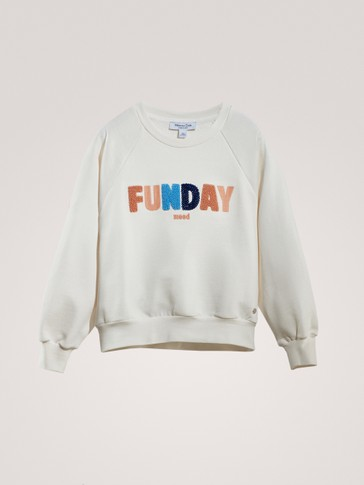 'FUNDAY' COTTON SWEATSHIRT