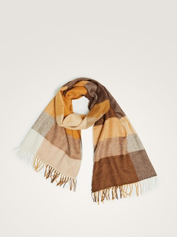 CHECK COLORS SCARF