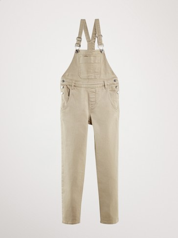 OVERALL DENIM COTTON TROUSERS