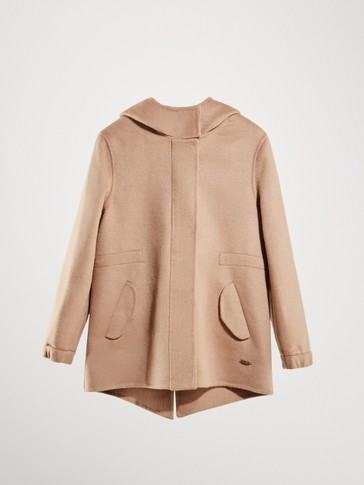 HANDMADE WOOL PARKA COAT