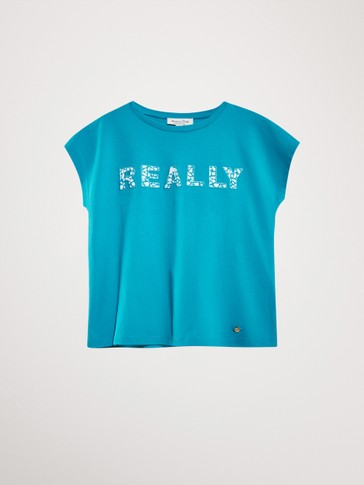 'REALLY' COTTON  T-SHIRT