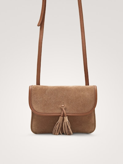 cb4f9bbd2e SUEDE CROSSBODY BAG - Girls - Massimo Dutti