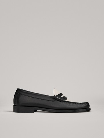 TWO-TONE LOAFERS