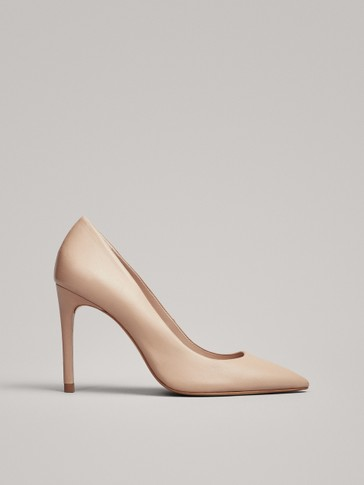 PINK HIGH-HEEL COURT SHOES