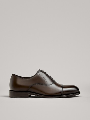 SCARPE OXFORD ELEGANTI MARRONI