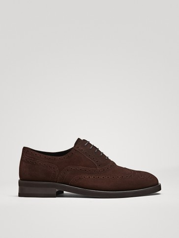 ZAPATO BROGUE SERRAJE MARRÓN
