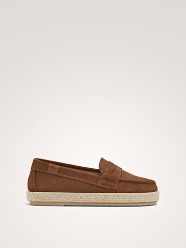 JUTE LOAFERS